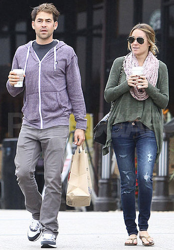 Pictures of Lauren Conrad and Kyle Howard Leaving the Malibu Market