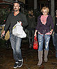 Pictures of Britney Spears and Jason Trawick Leaving Dinner at Marmalade Cafe in LA