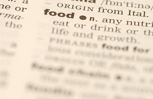 Glossary of Food Slang