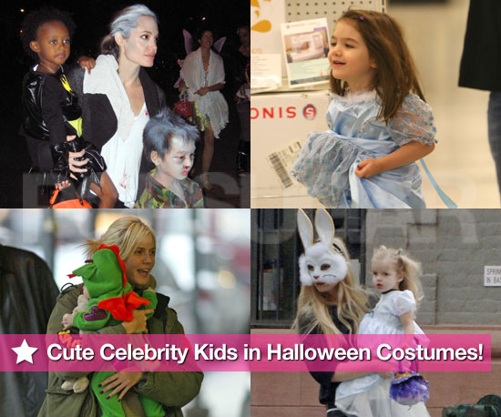 See Cute Celebrity Kids in Halloween Costumes Through the Years