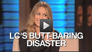 Video of Lauren Conrad Talking About a Wardrobe Malfunction on Lopez Tonight 2010-10-27 14:41:39