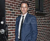 Slide Picture of Seth Meyers at Late Show in NYC