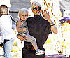 Slide Picture of Gwen Stefani at Pumpkin Patch With Zuma