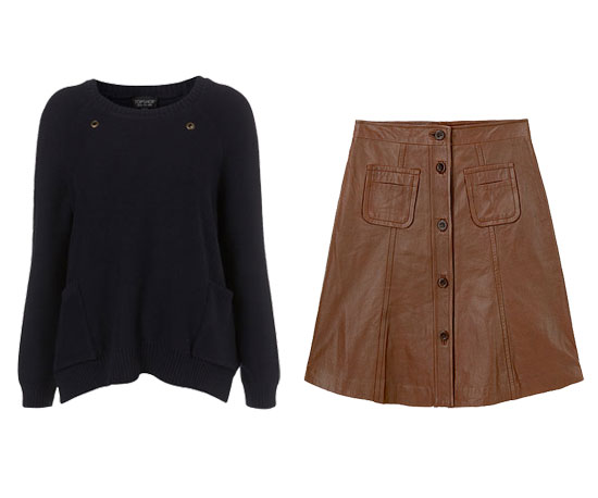 Must-Try: Navy + Brown