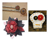 Day of the Dead Hair Accessories