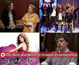Best and Worst of October Entertainment Includes The Social Network, Glee