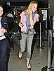 Pictures of Diane Kruger Leaving LAX