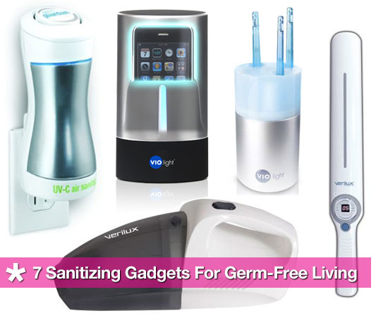 Get Rid of Germs With Cleaning Tech