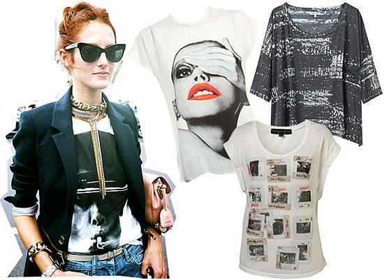 Taylor Tomasi Hill's Fashion Month Style Inspires Us To Work the Graphic Tee