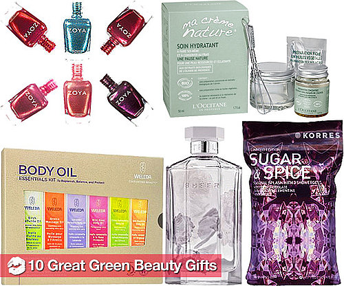 10 New Eco-Friendly Makeup, Beauty, and Personal Care Gift Ideas For Holiday 2010