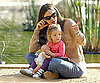 Slide Picture of Jennifer Garner at the Park With Seraphina Affleck