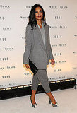 Rachel Roy dresses as polished as she designs.