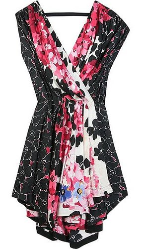 Vionnet - FLORAL PRINT WRAP DRESS