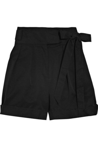ALICE by Temperley-Alivia cotton-blend high-waisted shorts