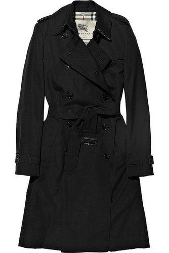 Burberry-Shower-proof gabardine trench coat