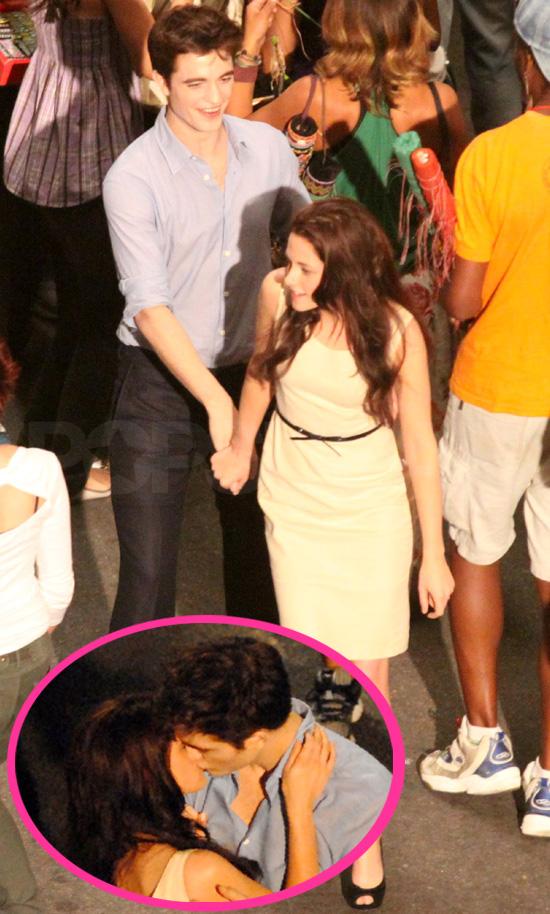 Pictures of Robert Pattinson and Kristen Stewart in Rio