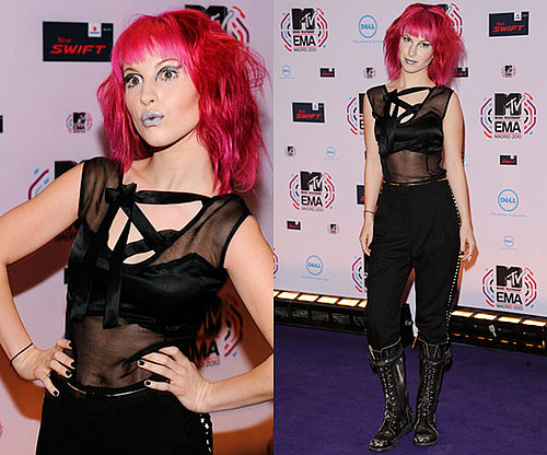 Photos of Hayley Williams at the MTV Europe Music Awards