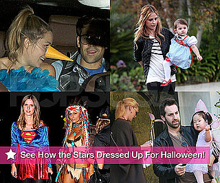 Pictures of Stars Dressing Up For Halloween 2010