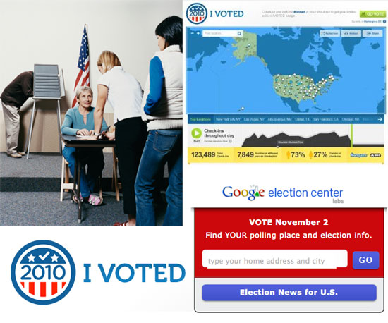 Polling Place Finders, Apps, and Websites