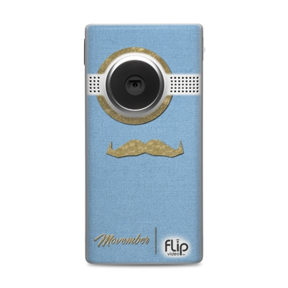 Photos of the Movember Flip Cameras