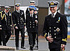 Prince William in Uniform at Submarine Presentation in Scotland