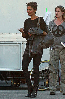 Pictures of Halle Berry Leaving the Set of Truth or Dare in LA