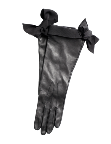 Leather gloves, $49.95
