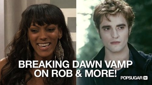 Video of Judi Shekoni Talking About Robert Pattinson, Breaking Dawn and More