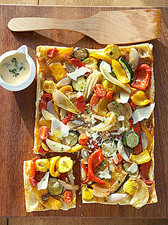 Roasted Squash and Pepper Tart Recipe