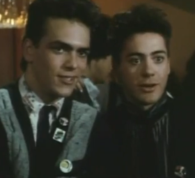 Video Robert Downey Jr. in Weird Science