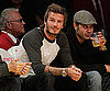 Slide Picture of David Beckham at Lakers Game