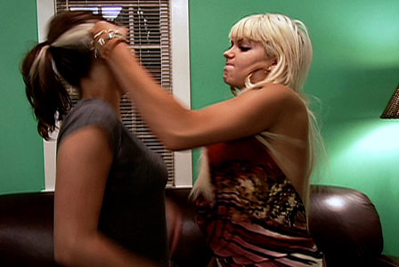 bad girls club miami kristen lea fight