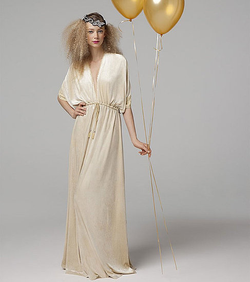 Dolman Sleeve Gown, $378