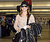 Slide Picture of Julianne Hough at LAX