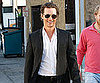 Slide Picture of Matthew McConaughey Arriving at Dinner in LA