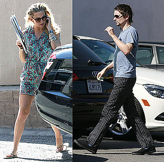 Pictures of Kate Hudson and Matt Bellamy Getting Lunch in LA