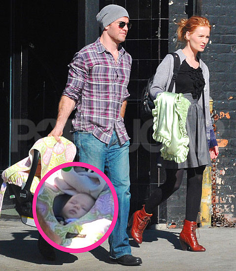 Pictures of James Van Der Beek Baby