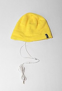 Urban Outfitters Beanie With Headphones