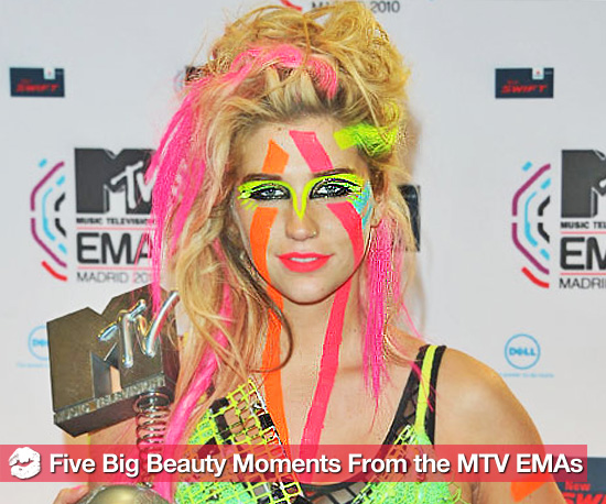 5 Big Beauty Moments From the MTV Europe Music Awards