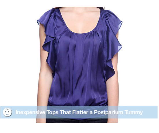 5 Budget-Friendly Tops to Flatter a Postpartum Tummy