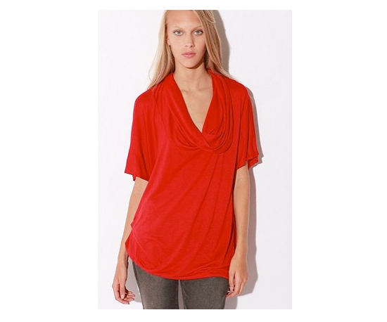 Urban Outfitters Sparkle & Fade Drape Pullover Tee