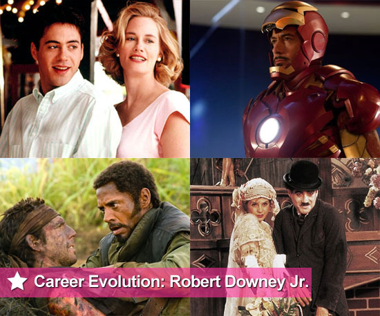 Career Evolution: Robert Downey Jr.