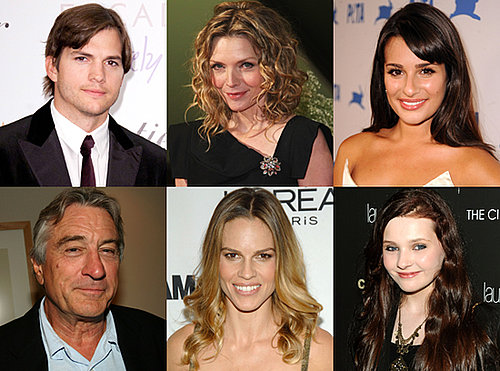 Cast For Garry Marshall's New Year's Eve Movie, Including Ashton Kutcher, Lea Michele, Robert De Niro, and Hilary Swank