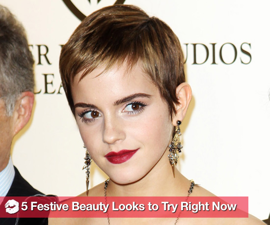 5 Festive Hair and Makeup Looks to Try Right Now
