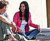 Slide Picture of Courteney Cox Filming Cougar Town