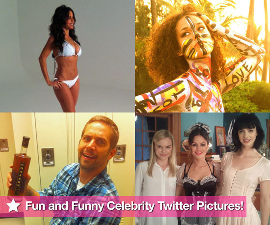 Fun and Funny Celebrity Twitter Pictures 2010-11-11 22:00:00