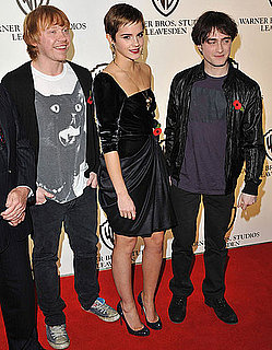 Pictures of Emma Watson, Daniel Radcliffe, Rupert Grint at Harry Potter and the Deathly Hallows Press Event 2010-11-10 14:05:00