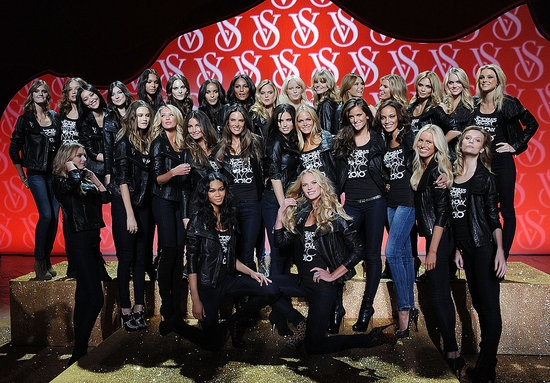 Angels Prepare for Victoria's Secret Show