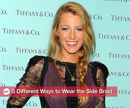 Different Ways to Wear the Side Braid 2010-11-14 14:54:36