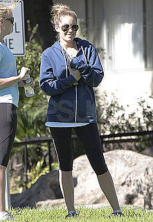 Pictures of Lauren Conrad Working Out in LA While Filming